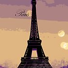 Paris Eiffel Tower by Designsbytopher