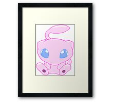Baby MEW without text Framed Print