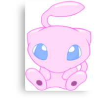 Baby MEW without text Canvas Print