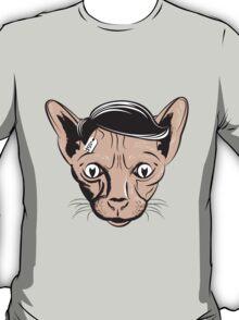 Hairless Cat Denial T-Shirt