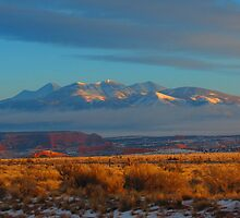 Utah dawn Monte La -Sal Mountains by Alex Call