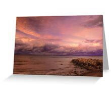 Sunset, Fury And Solitude On Georgian Bay - Part 2 © Greeting Card