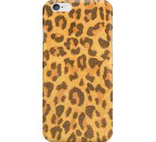 Leopard leather pattern texture closeup iPhone Case/Skin