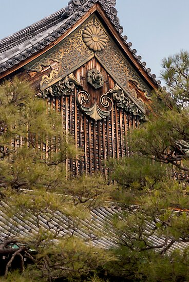 Nijo Castle Woodwork  by Paul Laubach