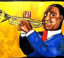Louis Armstrong by Patrick Ficklin