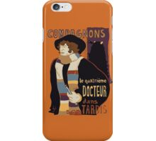 Le Fourth Doctor iPhone Case/Skin