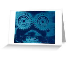 Cyano Bot Greeting Card