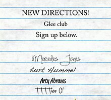 Glee Club Auditions by victoria weisheit
