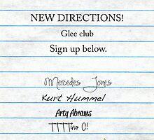 Glee Club Auditions by victoria weisheit