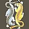 Jaguars - Silver and Gold by knon