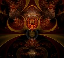 Fire Puja by Craig Hitchens - Spiritual Digital Art