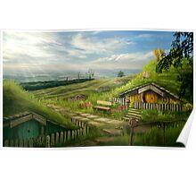 Hobbiton Shire Poster