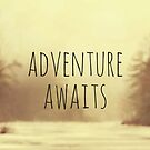 Adventure Awaits II by Vintageskies