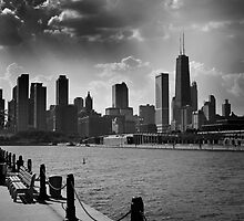 Chicago from Navy Pier by EdPettitt