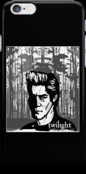 Edward - Twilight - Iphone Case by tribal191983