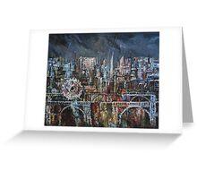 City Lights III Greeting Card