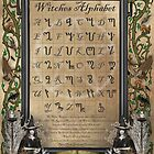 Witches Alphabet by magicalartz