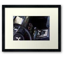 Mitsubishi Lancer Evolution X Exchange [ Print & iPad / iPod / iPhone Case ] Framed Print