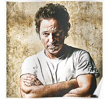 celebrities  bruce springsteen Poster