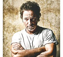 celebrities  bruce springsteen Photographic Print