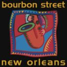 Mardi Gras Bourbon Street New Orleans by HolidayT-Shirts