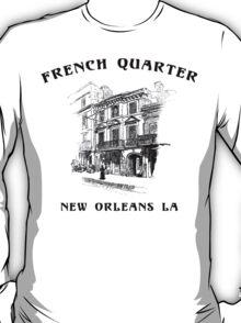 Mardi Gras French Quarter New Orleans T-Shirt