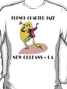 Mardi Gras French Quarter Jazz T-Shirt