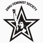 DMU Feminist Society tee - StarFist by tribal191983