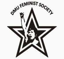 DMU Feminist Society tee - StarFist by tribal191983