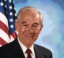 celebrities ron paul by Adam Asar