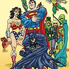 Justice League by JohnnyGolden