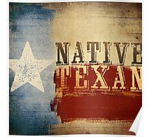 Native Texan Poster