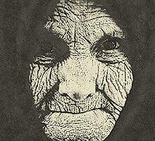 concept  a monumental face by Adam Asar