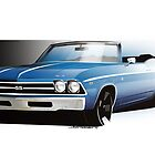 Chevrolet Chevelle 1969 by Jason Battersby Design