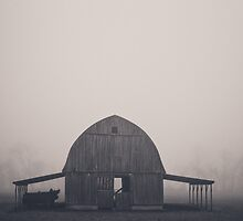 Arkansas Barn by hallyq14