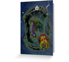 Jellyfish fields forever Greeting Card