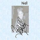 Niall Horan iPhone Case by Averyop