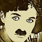 CHARLIE CHAPLIN-LITTLE TRAMP by OTIS PORRITT