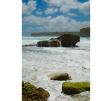 Dribble Rock Photographic Print