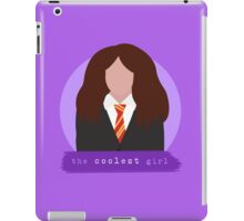 the coolest girl. iPad Case/Skin