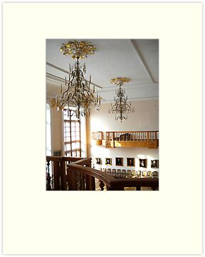 Palace Alferaki.Museum of Local History.Taganrog. Russia. Interior. by Vitta