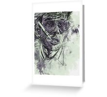 Fear and Loathing in Las Vegas - Johnny Depp - Paint Greeting Card