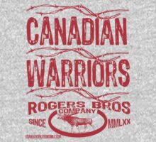 canadian warriors by rogers by usanewyork