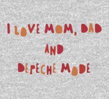 Depeche Mode for children =) Kids Clothes