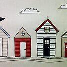 Beach houses by missbrodrick