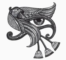 Eye of Horus (Tattoo Style Print) T-Shirt