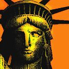 LADY LIBERTY-GOLD by OTIS PORRITT