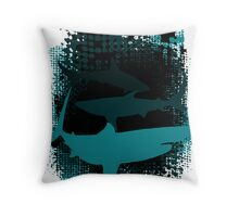 Infested Waters Throw Pillow