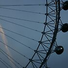 London Eye - Detail by Coemlyn