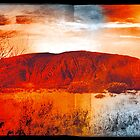 Uluru Ayers Rock Australia by Jeff Kaster